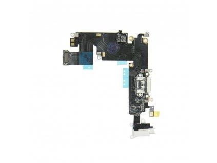 """Flex kabel konektoru nabíjení iPhone 6 Plus (5.5"""") +mikrofon+AV - bílá"""