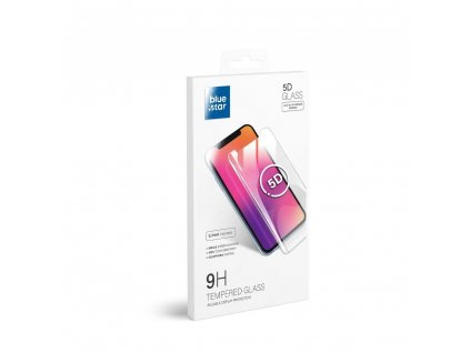 """Tvrzené sklo Blue Star Pro+ 0.3 mm 5D Full Cover pro Apple iPhone 7/8 4.7"""" - černé"""
