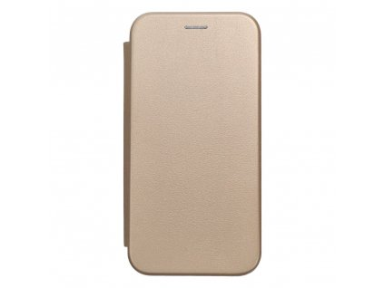 Pouzdro Forcell Book Elegance Apple Iphone 7 zlaté