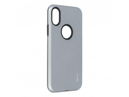 Pouzdro Roar Rico Armor - Apple Iphone X šedé