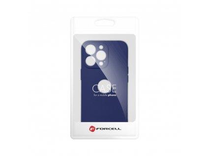 Pouzdro Forcell SOFT Apple Iphone 8 tmavě modré