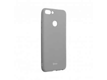 Pouzdro Roar Colorful Jelly Case - Huawei P Smart / Enjoy 7s šedé