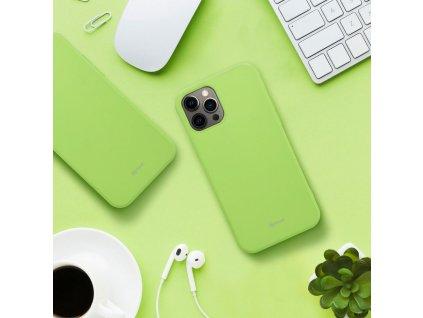 Pouzdro Roar Colorful Jelly Case - Huawei P Smart / Enjoy 7s Limonka