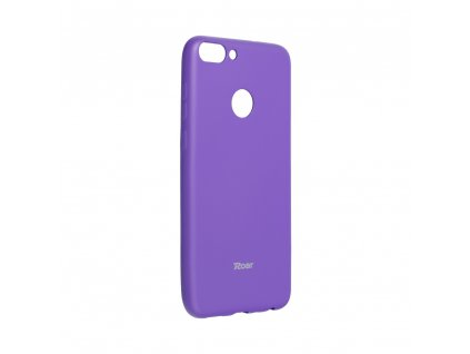 Pouzdro Roar Colorful Jelly Case - Huawei P Smart / Enjoy 7s fialové