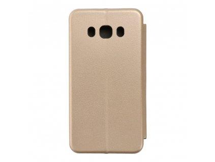 Pouzdro Forcell Book Elegance Samsung Galaxy J5 2016 zlaté