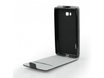 Pouzdro Forcell Slim flip flexi Lenovo Moto G5 Plus černé