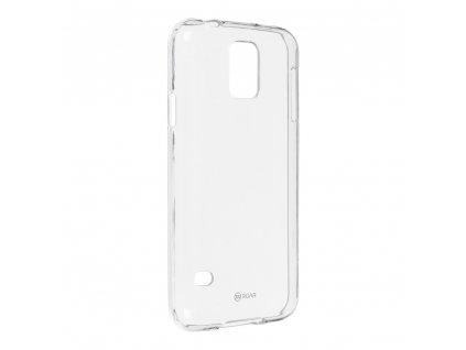 Pouzdro Roar Transparent Tpu Case pro Samsung Galaxy S5 (SM-G900) transparentní