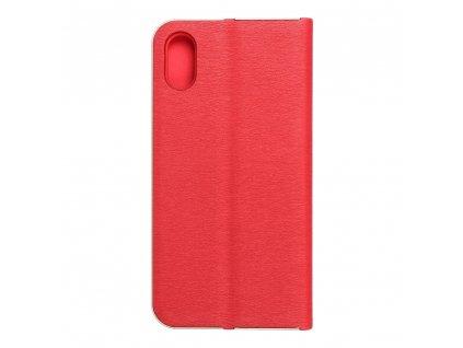 Pouzdro Forcell Luna Book Apple Iphone X červené