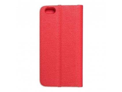 Pouzdro Forcell Luna Book Apple Iphone 6 červené