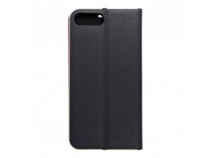 Pouzdro Forcell Luna Book Apple Iphone 7 Plus / 8 Plus černé