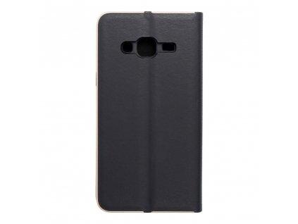 Pouzdro Forcell Luna Book Samsung Galaxy J3/J3 2016 černé