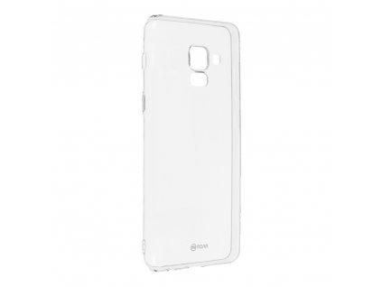 Pouzdro Roar Transparent Tpu Case pro Samsung Galaxy A8 2018/ A5 2018 transparentní