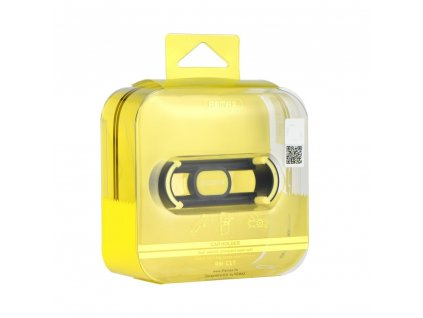 Držák do auta REMAX RM-C17 do mřížky - černý/ žlutý