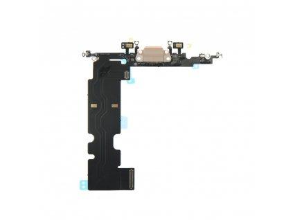 """Flex Kabel konektoru nabíjení pro Apple iPhone 8 Plus (5.5"""") vč. mikrofonu - zlatá"""