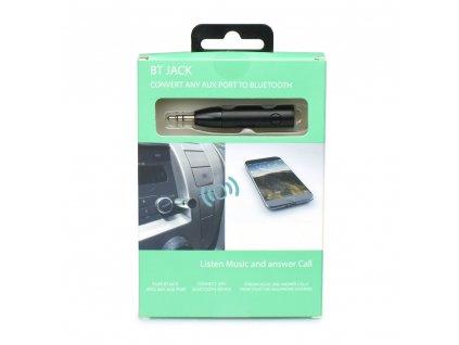 Bluetooth 3,5mm audio vysílač AUX - černý