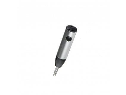 Bluetooth 3,5mm audio přijímač AUX - stříbrný