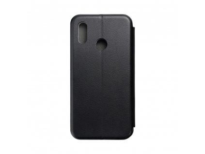 Pouzdro typu kniha Forcell Elegance PREMIUM Huawei P20 lite černé