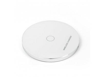 Rychlá indukční nabíječka (Wireless Qi) model KD01 - bílá