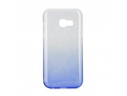 Pouzdro Forcell SHINING Samsung Galaxy A3 2017 transparentní/modré