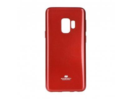 Pouzdro Goospery Mercury Jelly - Samsung Galaxy S9 PLUS červené