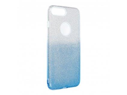 Pouzdro Forcell SHINING Apple Iphone 7 Plus / 8 Plus transparentní/modré