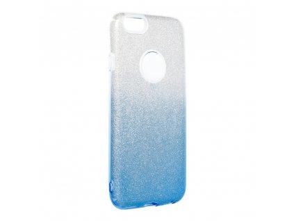 Pouzdro Forcell SHINING Apple Iphone 6/6S transparentní/modré
