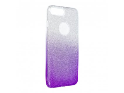 Pouzdro Forcell SHINING Apple Iphone 7 Plus / 8 Plus transparentní/fialové
