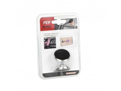 Univerzální magnetický držák mobilu do auta (C1557A) - stříbrný