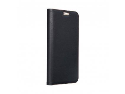 Pouzdro Forcell Luna Book Huawei P Smart  černé