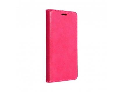 Pouzdro Magnet Flip Wallet Book pro HUAWEI P20 růžové