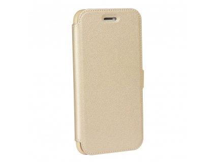 Pouzdro Forcell Pocket Book Huawei P20 zlaté