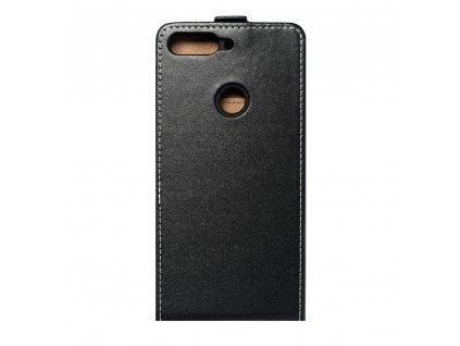 Forcell pouzdro Slim Flip Flexi FRESH pro Huawei Y7 2018 černé