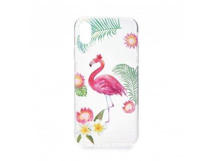 Pouzdro Forcell Summer FLAMINGO - PLAMEŇÁK Samsung A6 2018