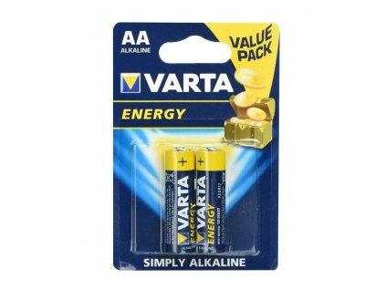 VARTA ENERGY alkalická baterie R6 (AA) - 2 ks