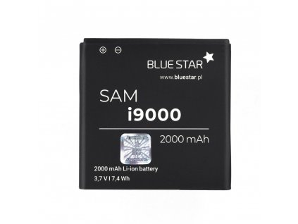 Baterie Samsung I9000 Galaxy S 2000 mAh Li-Ion Blue Star PREMIUM