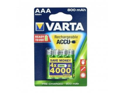 VARTA nabíjecí baterie R3 (AA) 800 mAh - 4 ks