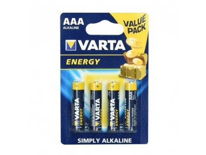VARTA alkalická baterie R3 (AAA) - 4 ks