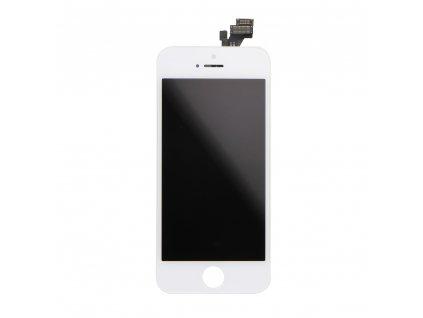 LCD displej + dotyková deska Apple Iphone 5 bílá (Originál)