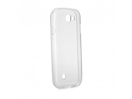 Pouzdro Back Case Ultra Slim 0,3mm LG Q7 transparentní
