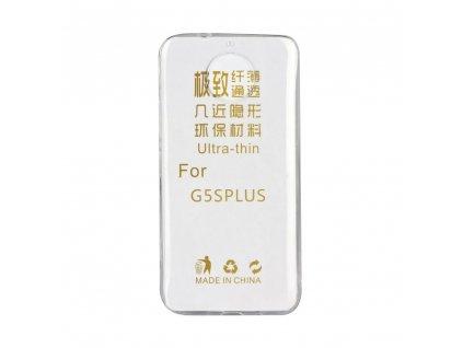 Pouzdro Back Case Ultra Slim 0,3mm Lenovo MOTO G5S+ ( PLUS ) transparentní