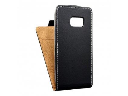 Forcell pouzdro Slim Flip Flexi FRESH pro Samsung G930F Galaxy S7 - černé