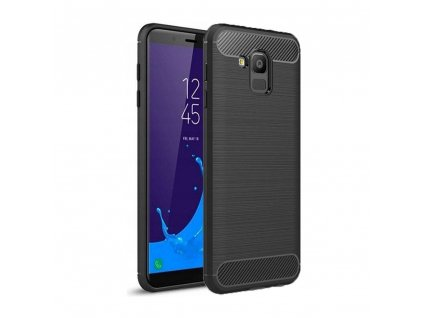 Pouzdro Forcell Carbon Samsung Galaxy J6 2018 černé
