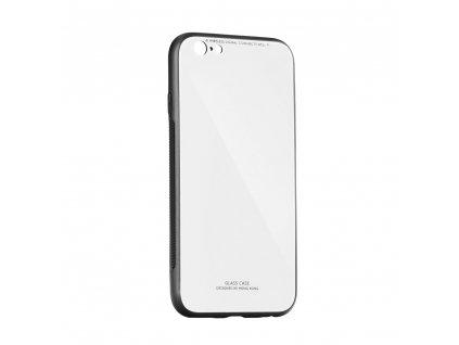 Pouzdro Forcell Glass Samsung Galaxy A8 2018 bílé