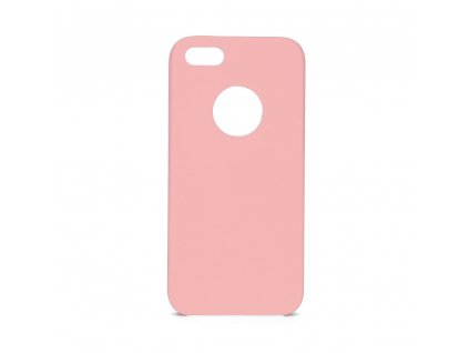 Pouzdro Forcell Soft-Touch SILICONE Apple Iphone 5 / 5S / 5 SE růžové