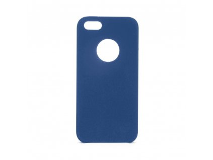 Pouzdro Forcell Soft-Touch SILICONE Apple Iphone 5 / 5S / 5 SE modré