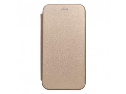 Pouzdro Forcell Book Elegance Huawei Mate 20 Lite zlaté