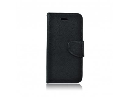 Pouzdro typu kniha Fancy Huawei Honor 7c černé