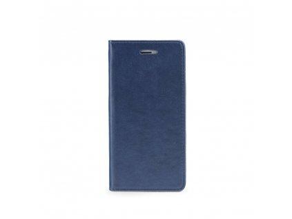 Pouzdro Magnet Flip Wallet Book HUAWEI Y6 2018 navy blue