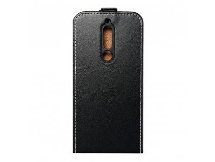 Forcell pouzdro Slim Flip Flexi FRESH Nokia 5.1 černé