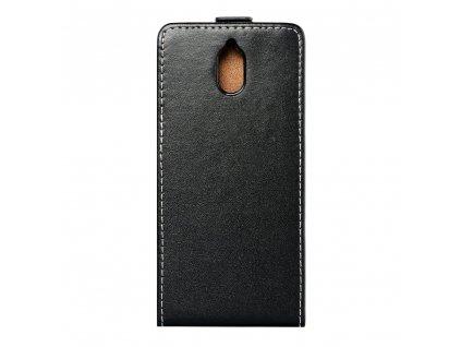 Forcell pouzdro Slim Flip Flexi FRESH Nokia 3.1 černé